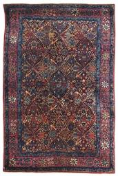 A fine Kirman rug