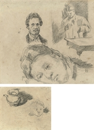 Page of studies, including Mad