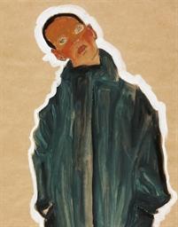 Junge im grünen Mantel (Boy in