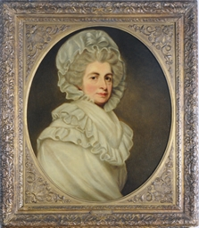 Portrait of a lady in white, s