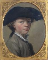 Portrait of a boy in a tricorn hat