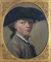 Portrait of a boy in a tricorn