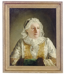 Portrait of Madame Crozat, hal