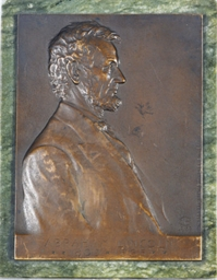 Portrait of Abraham Lincoln in