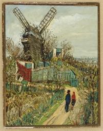 Le Moulin de la Galette, Montm