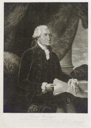 Portrait of George Washington;