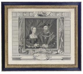 [Royal Portraits]: Four Plates