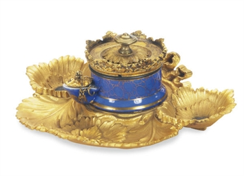 A GILT METAL-MOUNTED FRENCH PO