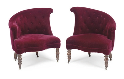 A PAIR OF AMERICAN ROCOCO REVI