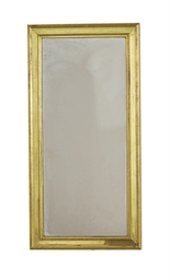 AN AMERICAN GILTWOOD RECTANGUL