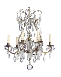 A GILT-METAL, ROCK-CRYSTAL AND