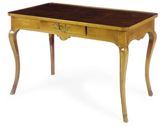 A FRENCH PROVINCIAL WALNUT WRI