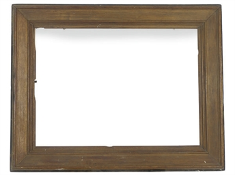 A LARGE OAK FRAME,