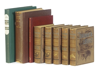 A GROUP OF SPORTING BINDINGS,