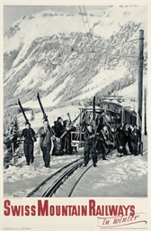 SWISS MOUNTAIN RAILWAYS IN WIN