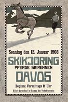 SKIKJOERING, DAVOS