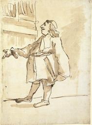 A caricature of a prelate in a