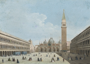 View of the Piazza San Marco,