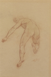 Study for a figure in The Triu