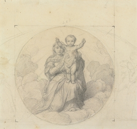 The Virgin and Child, inscribe