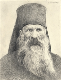 Portrait of an orthodox priest