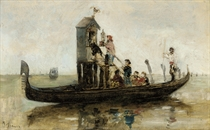 A shrine on the Venetian lagoon