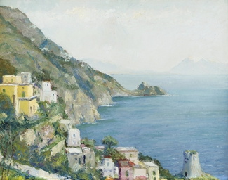 The Gulf of Salerno, Amalfi