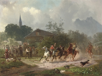 The village horserace