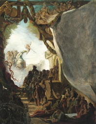 An allegorical scene