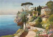 On the Capri coast