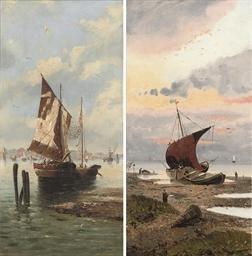 Fishing boats on the Venetian