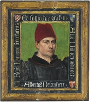 Portrait of Albertus Delantiere, Secretary to Navarre