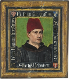 Portrait of Albertus Delantier