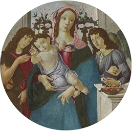 The Madonna and Child with two