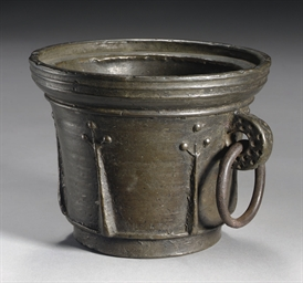 A BRONZE MORTAR