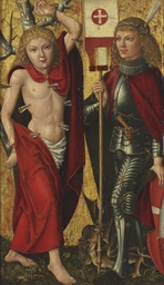 Saints Sebastian and George