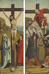 The Crucifixion, with a figure