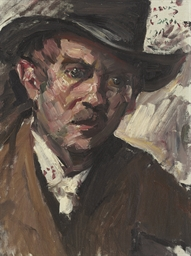 Self Portrait with a Black Hat