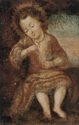 The Infant Christ with a bird