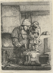 A goldsmith (Bartsch, Hollstei