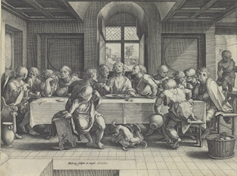 The Last Supper (Bartsch 39; H