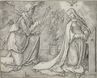 The Annunciation (Bartsch 35)