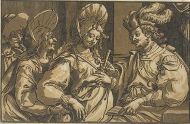 The Procuress (Hollstein 24)