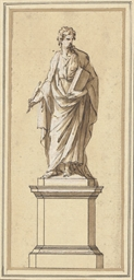 Study for a statue of John Loc
