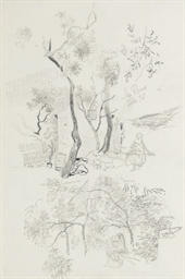 Studies of a garden in San Rem