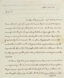 ADAMS, John Quincy. (1767-1848