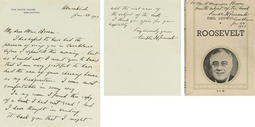 ROOSEVELT, Franklin D. (1882-1