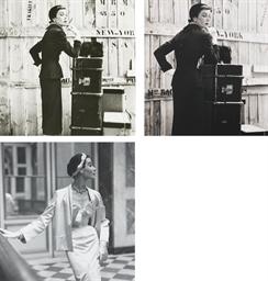 Vogue fashion studies, 1950-19
