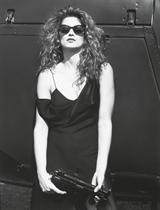 Celebrity portraits including Cindy Crawford, 1993-1995
