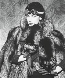 Woman in Fur; Peponi No. 12; N